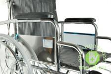 Кресло-коляска механическая стальная FS954GC – фото 3