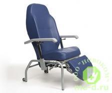 Кресло-стул повышенной комфортности колесах Normandie (гериатрическое кресло) – фото 2