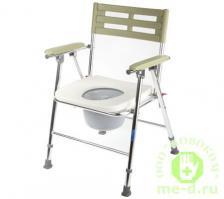 Кресло-туалет складной с широким сиденьем WC XXL