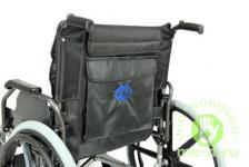 Кресло-коляска механическая стальная FS951B-56 – фото 2