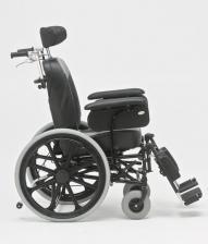 Кресло-коляска механическая стальная FS204BJQ – фото 2