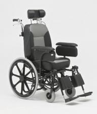 Кресло-коляска механическая стальная FS204BJQ – фото 1