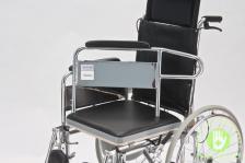 """Кресло-коляска с туалетом и высокой спинкой """"ARMED"""" FS609GC – фото 3"""