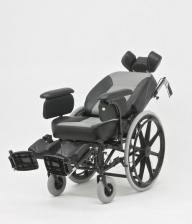 Кресло-коляска механическая стальная FS204BJQ – фото 4