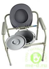 Кресло-туалет складное 10580