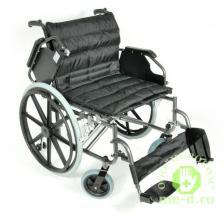 Кресло-коляска механическая стальная FS951B-56 – фото 1