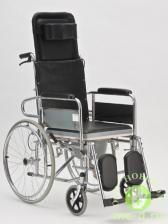 """Кресло-коляска с туалетом и высокой спинкой """"ARMED"""" FS609GC"""