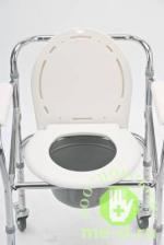 """Кресло-каталка с санитарным оснащением для инвалидов """"Armed"""" FS696 – фото 3"""