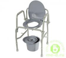 Кресло-туалет с откидывающимися поручнями 10583 – фото 2