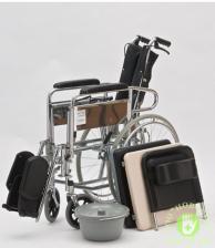 """Кресло-коляска с туалетом и высокой спинкой """"ARMED"""" FS609GC – фото 4"""