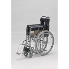 Кресло-коляска механическая стальная FS975-51 – фото 4