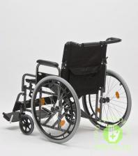 Кресло-коляска механическая стальная FS209AE-61 – фото 3
