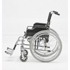 Кресло-коляска механическая стальная FS908AQ – фото 1