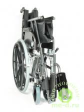 Кресло-коляска механическая стальная FS951B-56 – фото 4