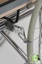 """Кресло-коляска с туалетом и высокой спинкой """"ARMED"""" FS609GC – фото 2"""