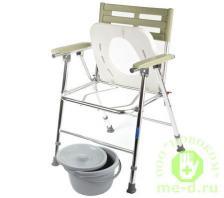 Кресло-туалет складной с широким сиденьем WC XXL – фото 1