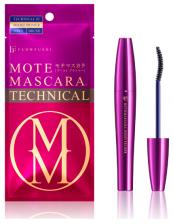 Flowfushi Mote Mascara TECHNICAL BOOST & PRIMER Тушь для ресниц, подкручивающая, темно-синяя