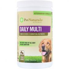 Pet Naturals of Vermont Ежедневный поливитамин для собак 150 жевательных пастилок Pen-00784