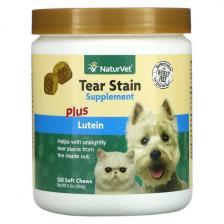NaturVet Tear Stain Supplement Plus Lutein 120 Soft Chews 9.3 oz (264 g) Vet-03734