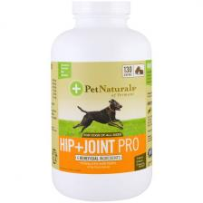 Pet Naturals of Vermont Профессиональная формула для бедер и суставов Для собак 130 жевательных таблеток Pen-00781