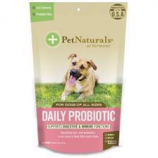 Pet Naturals of Vermont Ежедневные пробиотики для собак всех размеров 60 жевательных таблеток 2 54 унц. (72 г) Pen-87536