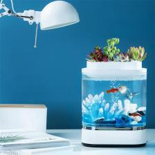 Аква-ферма Xiaomi Geometry Mini Lazy Fish Tank Pro (C300) HF-JHYG005 – фото 4