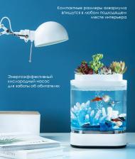 Аква-ферма Xiaomi Geometry Mini Lazy Fish Tank Pro (C300) HF-JHYG005 – фото 3