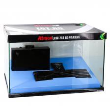 Аквариум Atman ZGT-60 черный LED, 75 литров