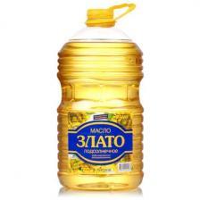 Масло растительное Злато 5л рафинированное