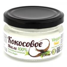 Vegan food масло кокосовое, 0.2 л