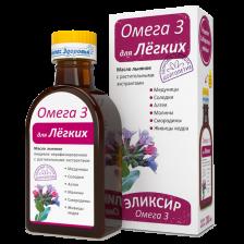 Эликсир Компас Здоровья Омега 3 для Лёгких 200 мл