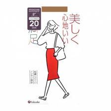 Колготки женские светлый нюд, 20 ден (размер M-L 3-4), Fukuske 1 пара