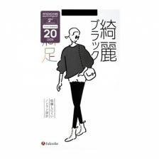 Колготки женские черные, 20 ден (размер S-M 2-3), Fukuske 1 пара