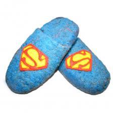 """EcoTapki Тапочки """"Супермен"""" – фото 1"""
