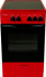 Электрическая плита ЛЫСЬВА ЭПС 301 МС вишневый
