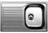 Кухонная мойка Blanco Tipo 45 S Compact (513441) нержавеющая сталь матовая