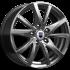 Колесный диск K&K Игуана дарк платинум 7xR17 ET47 5*114.3 D66.1
