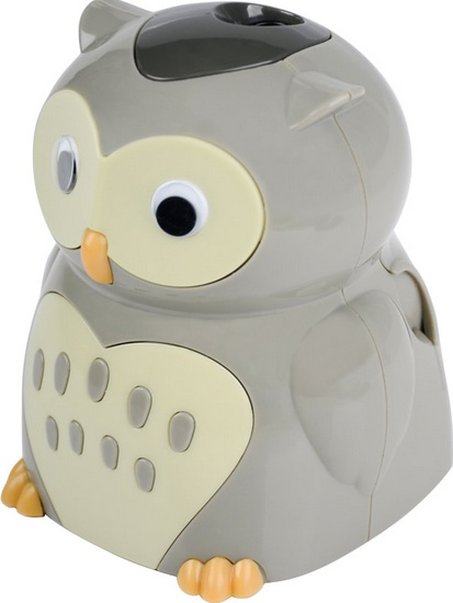 Berlingo Точилка Owl с контейнером – фото 3