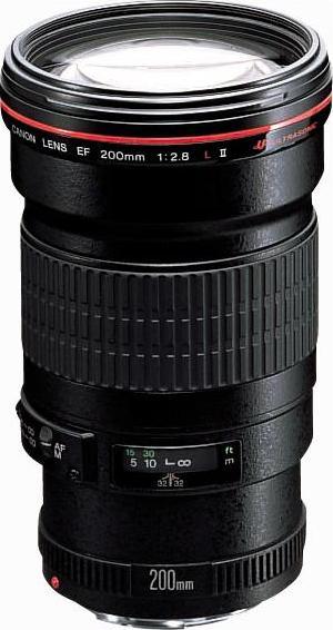 объектив Canon EF 200mm f/2.8L II USM