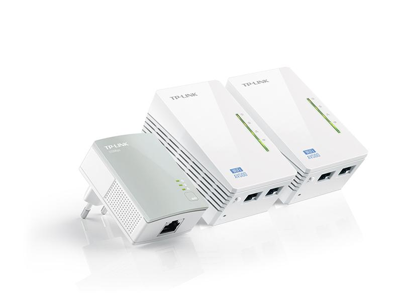Powerline адаптер TP-LINK TL-WPA4220T Kit