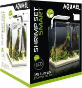 Aquael Аквариум SHRIMP SET SMART LED PLANT ll 20 белый (19 л)
