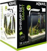 Aquael Аквариум SHRIMP SET SMART LED PLANT ll 20 черный (19 л)