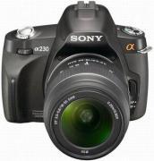 Цифровой фотоаппарат Sony Alpha DSLR-A230