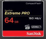 Карта памяти Compact Flash 64 Гб Class 10 Extreme Pro SanDisk SDCFXPS-064G-X46