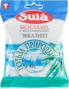 Sula Леденцы без сахара Эвкалипт 60г