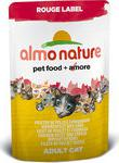 Almo Nature Паучи Rouge Label Adult Cat with Chicken Fillet and Cheese с куриным филе и сыром для кошек 55г