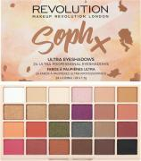 Макияж Makeup Revolution Палетка теней для век / SophX Ultra Eyeshadows