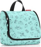 Reisenthel Сумка-органайзер Toiletbag cats and dogs mint WH4062