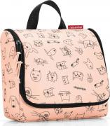 Reisenthel Сумка-органайзер Toiletbag cats and dogs rose WH3064