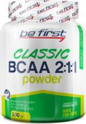 Спортивное питание Be First BCAA 2:1:1 Classic powder, аминокислоты 200 г